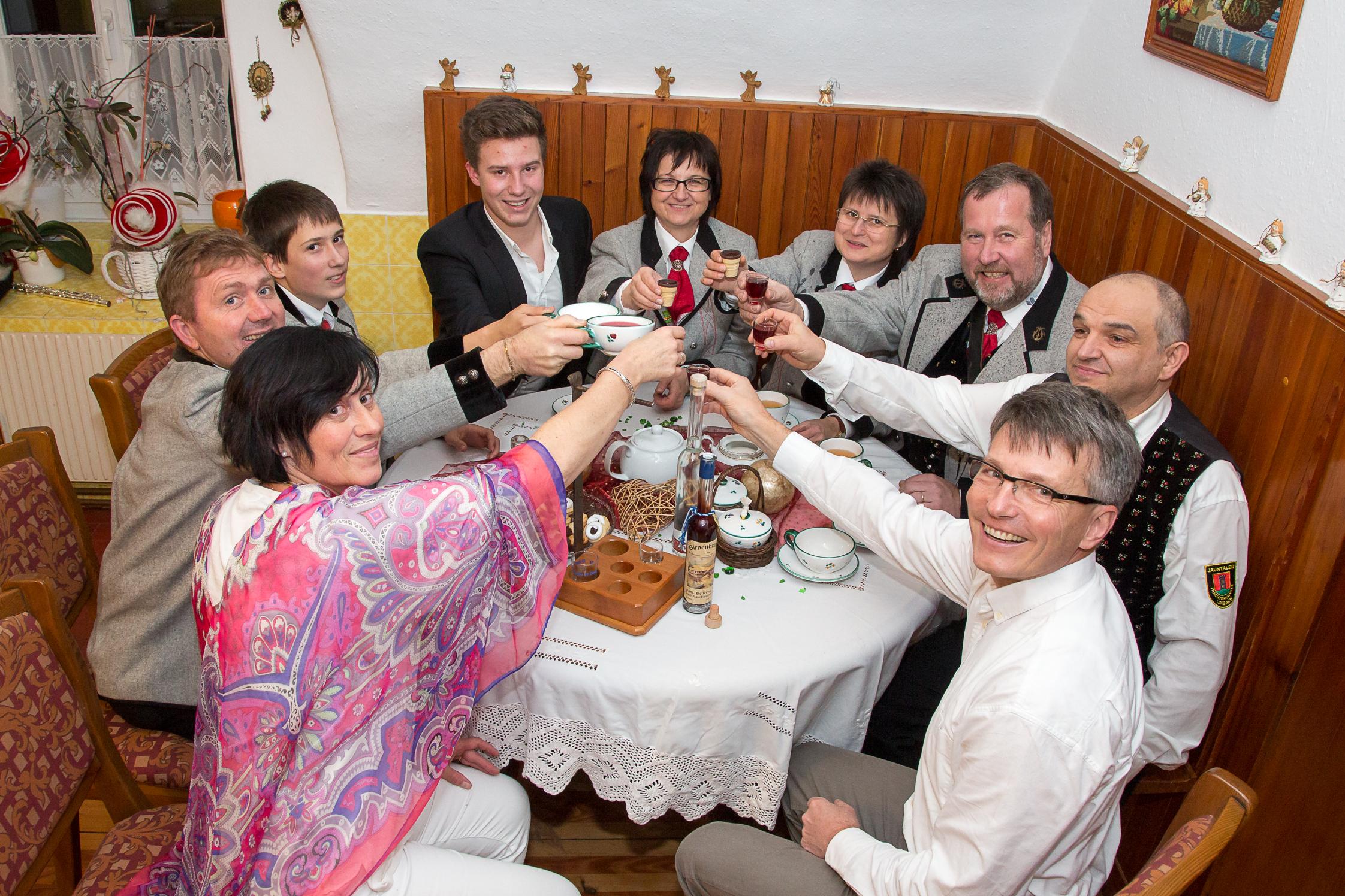 Weihnachtsbräuche Bleiburg Raurisnacht Klöckeln Stall Rauris