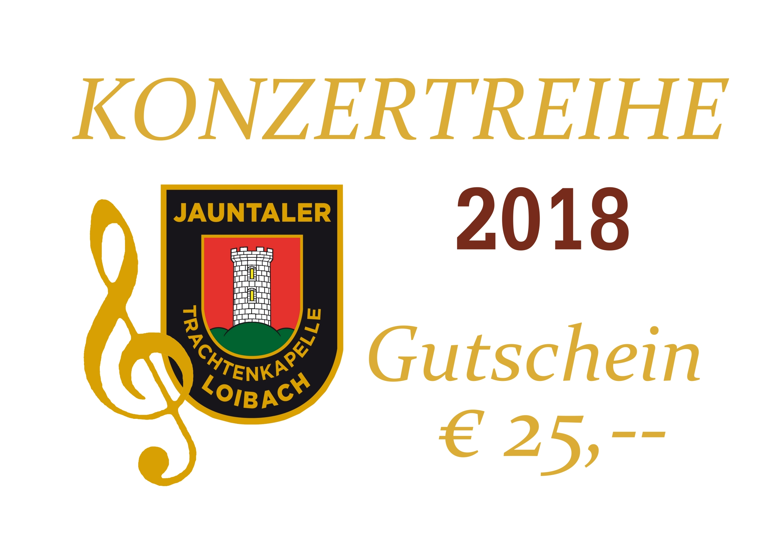 Gutschein Konzertreihe 2018