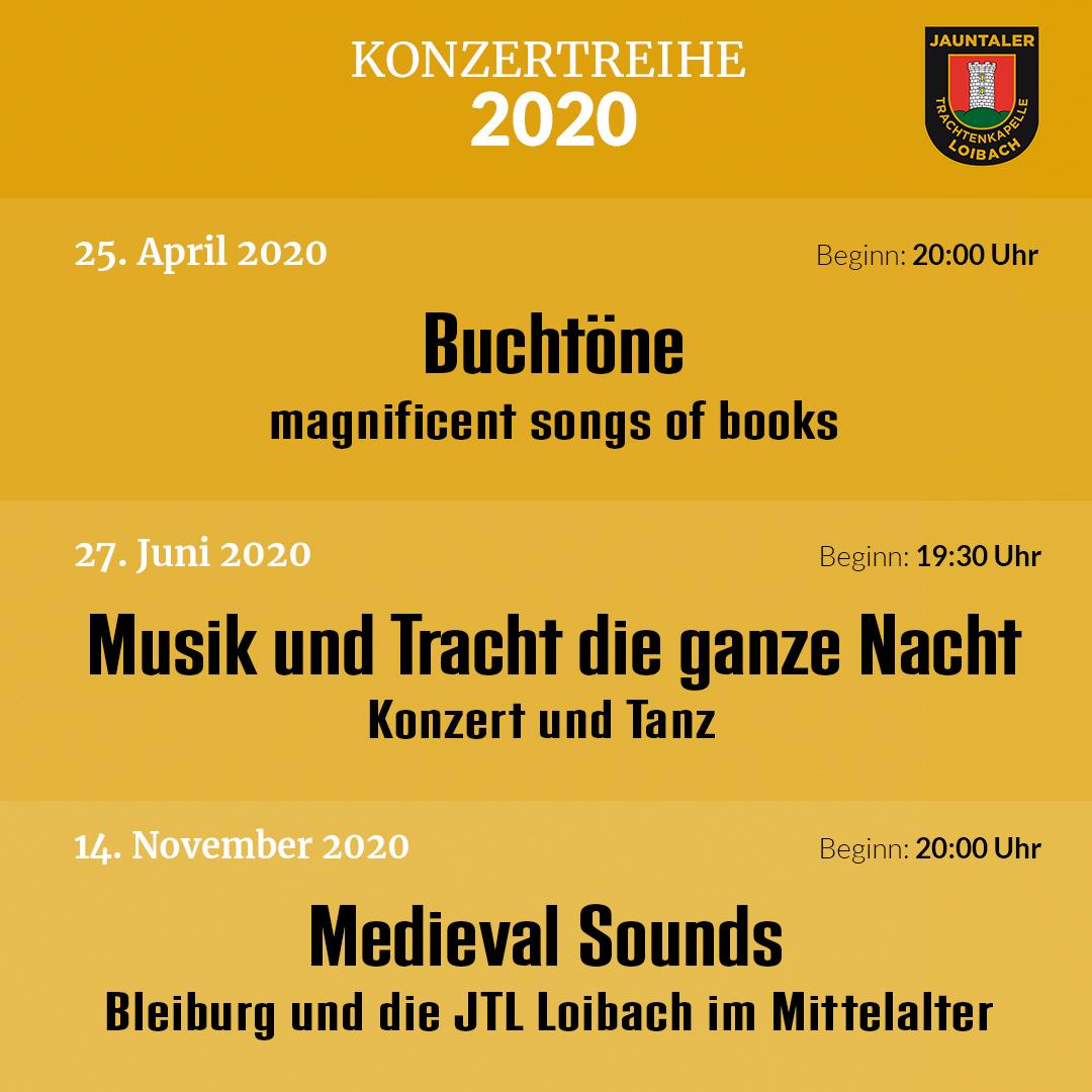 Konzertreihe 2020